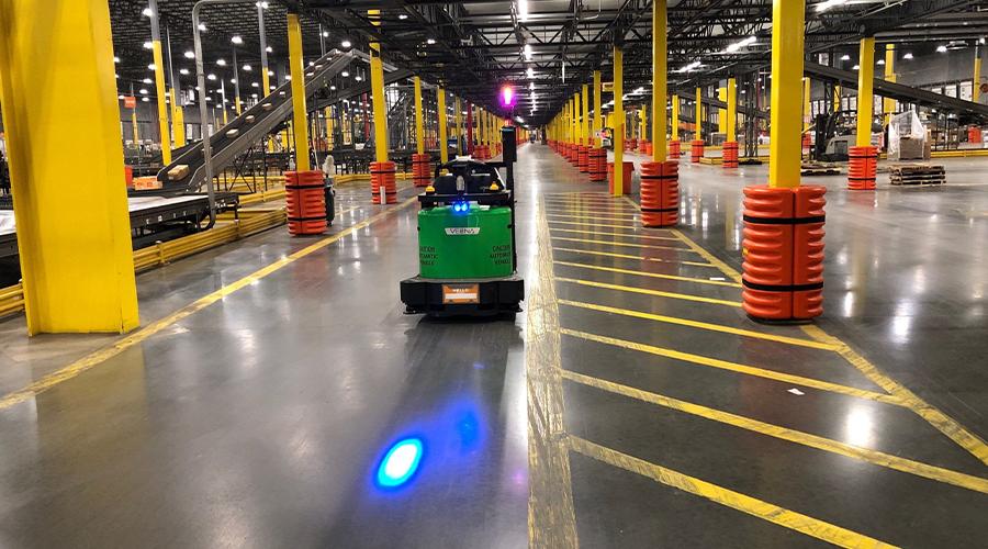 Vecna Robotics' Fastest Robot Fleet