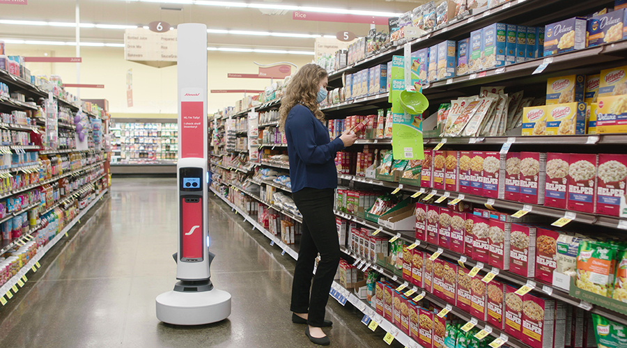 Hy-Vee Deploys Tally Robot