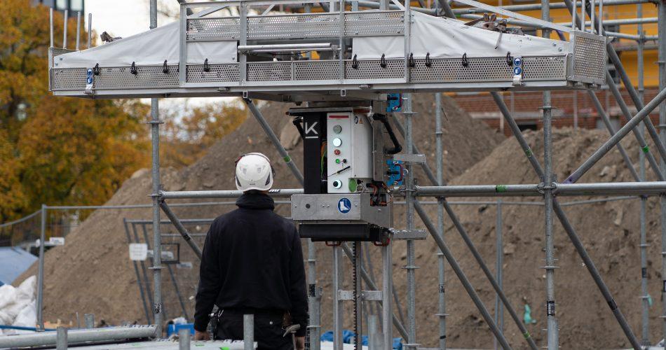 LiftBot simplifies Scaffolding